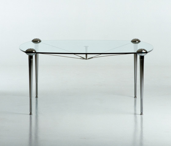 Ludwig square table de Baleri Italia by Hub Design | Tables de repas