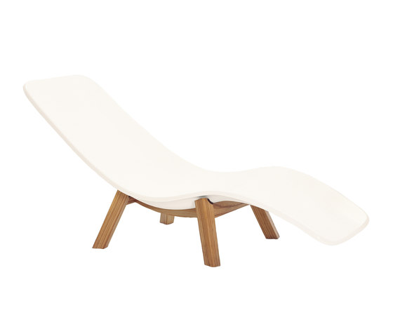 Deckchair by nanoo by faserplast | Sun loungers
