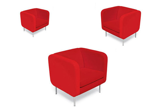 Smalltown armchair by OFFECCT | Lounge chairs
