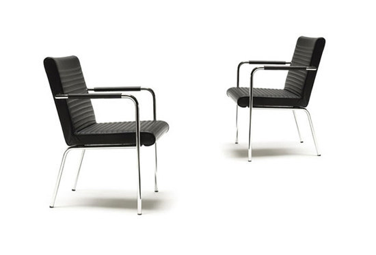 Quilt armchair by OFFECCT | Restaurant chairs