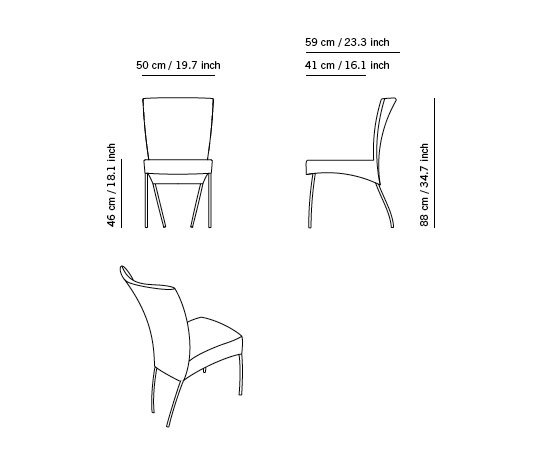 Spica by Montis | Chairs