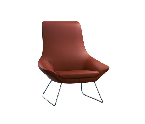 Flow bucket seat by Walter Knoll | Lounge chairs