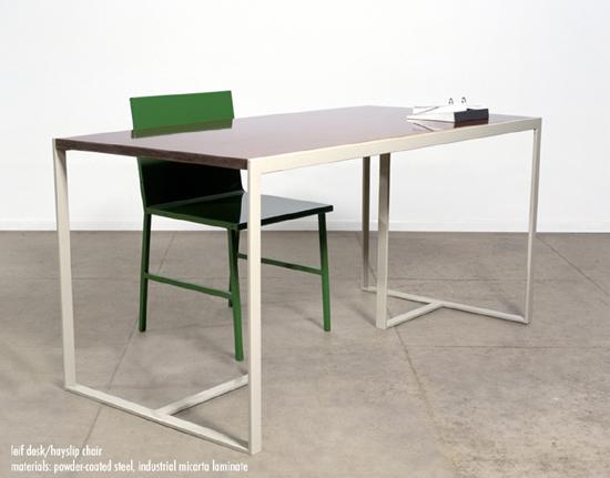 Leif Desk / Hayslip Chair by Lawson-Fenning