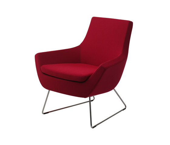 Happy easy chair low back by Swedese | Lounge chairs