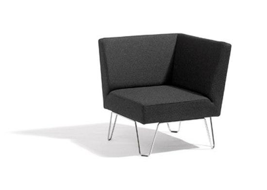 Qvarto corner unit by Blå Station | Modular seating elements