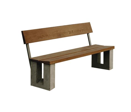 Fårösund by Skulpturfabriken | Garden benches