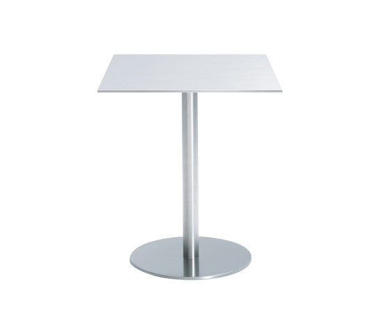 Nox square table by Desalto | Cafeteria tables