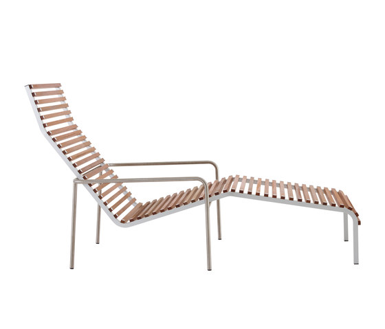 Extempore long chair de extremis | Méridiennes de jardin
