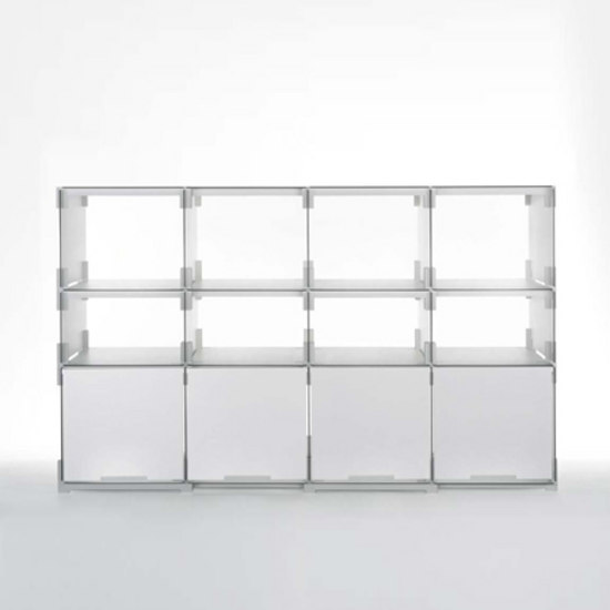 platten_bau by Kaether & Weise | Office shelving systems