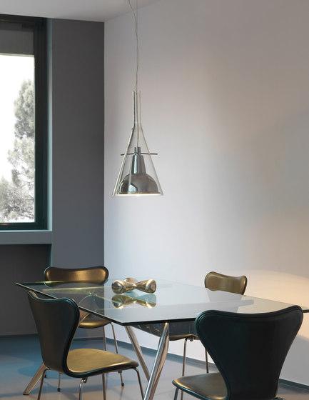 Flûte Magnum Suspension lamp by FontanaArte | General lighting