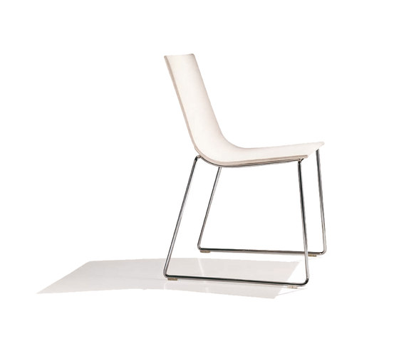 Lineal SI 0584 by Andreu World | Visitors chairs / Side chairs