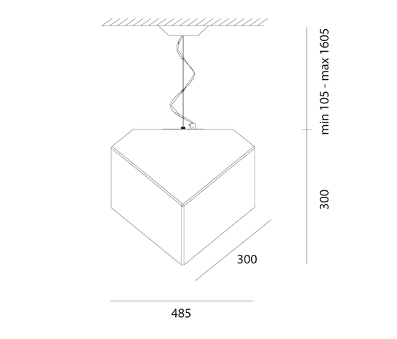 Edge 30 Suspension Lamp by Artemide | Suspended lights