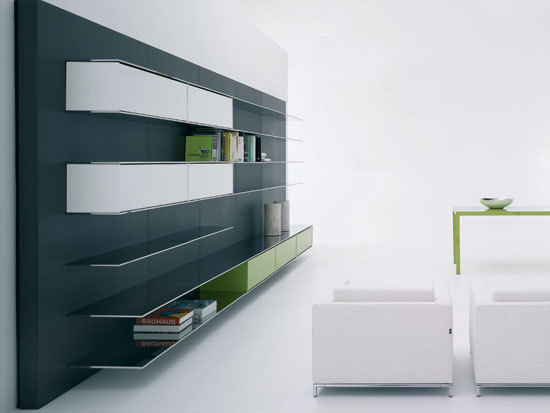 Elevenfive* by MDF Italia | Wall storage systems