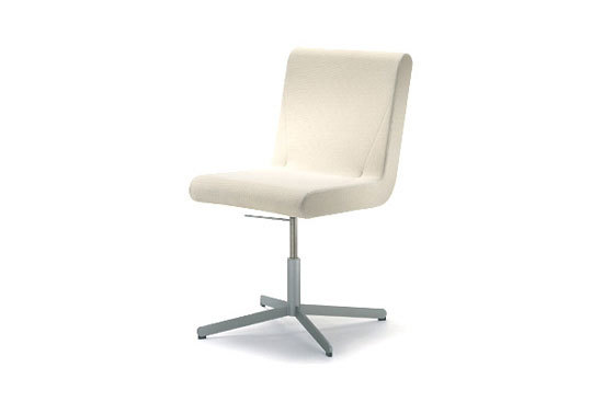 BOOMERANG four star swivel chair di IXC. | Sedie