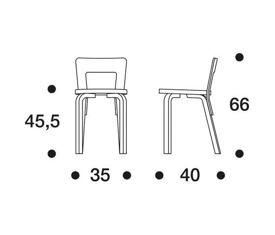 Chair 65 di Artek | Sedie
