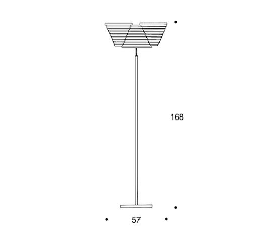 Floor Lamp A809 de Artek | Iluminación general