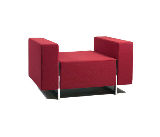 Box Sofa System von Inno | Modulare Sitzelemente