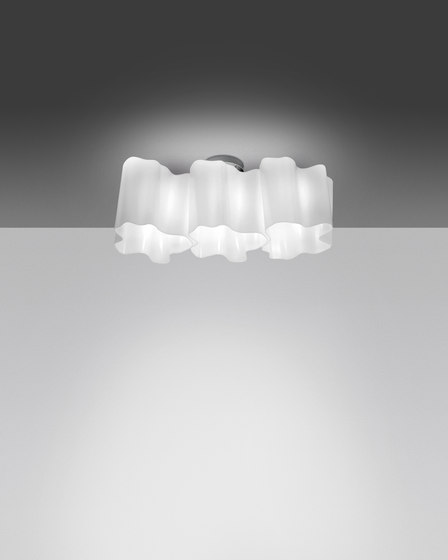 Logico soffitto 3 in linea by Artemide | General lighting