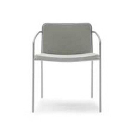 Milan Paris stackable armchair by Artelano | Multipurpose chairs
