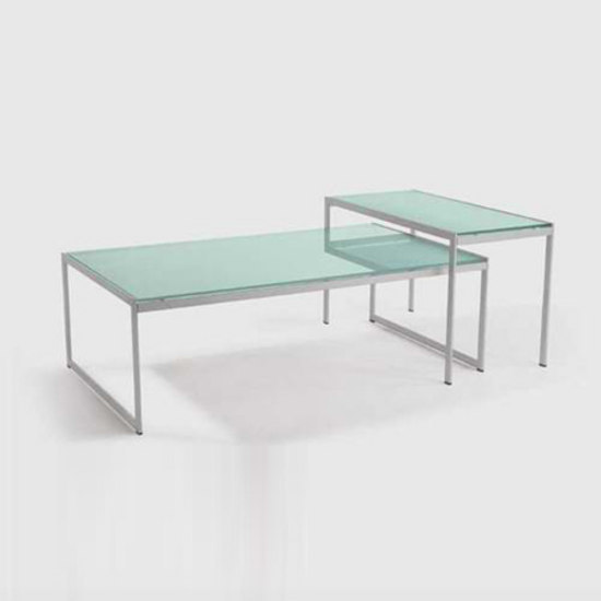 Seventies set of 2 coffee tables de Artelano | Tables basses