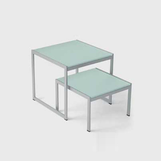 Seventies set of 2 coffee tables by Artelano | Coffee tables