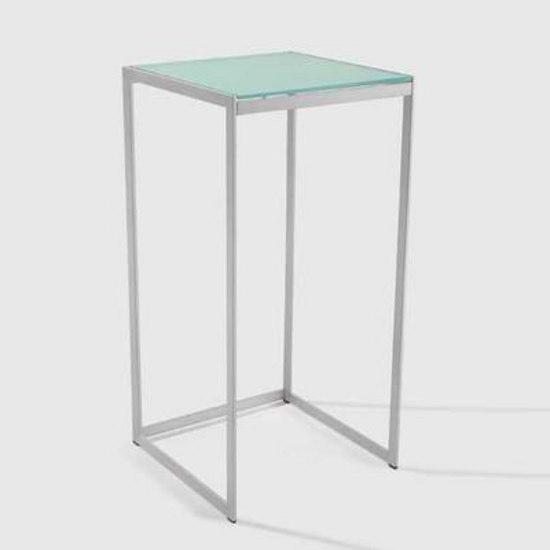 Seventies high pedestal table by Artelano