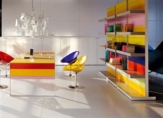 Stripes Collection de Fantoni | Bureaux individuels