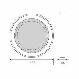 Spiegelleuchte di Mawa Design | Illuminazione bagno