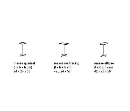 Standby di Arco | Tavolini di servizio