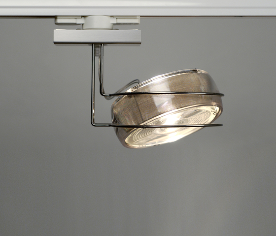 Opto T1 transparent by Wortmeyer Licht | Track lighting