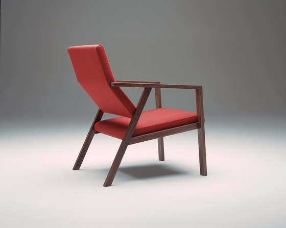 Steiner | Reading Chair Solo di Schmidinger Möbelbau | Poltrone