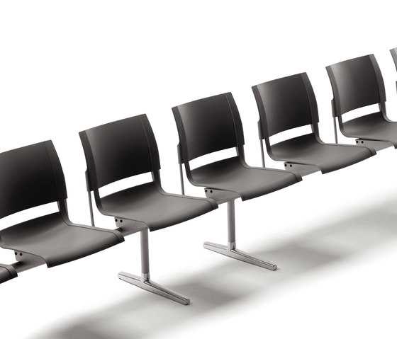 Pol bench by AKABA | Beam / traverse seating