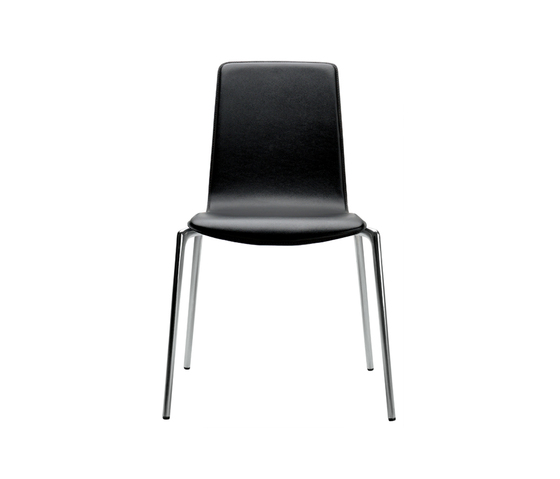 Gorka hide upholstered by AKABA | Visitors chairs / Side chairs