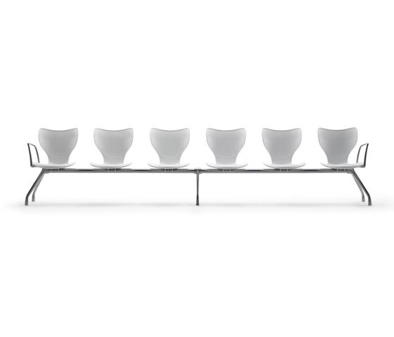 Gorka Bench polyamide by AKABA | Beam / traverse seating