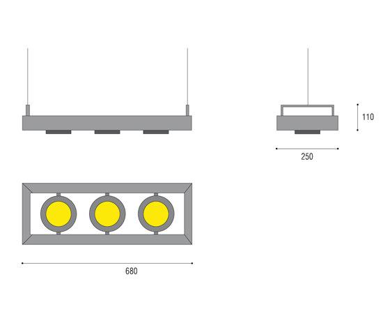 Edge Projex Pendant von QC lightfactory | Strahler