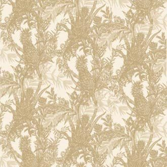 PINEAPPLE TOILE WALLPAPER by Timorous Beasties | Wall coverings / wallpapers
