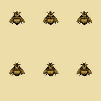 NAPOLEON BEE WALLPAPER by Timorous Beasties | Wall coverings / wallpapers