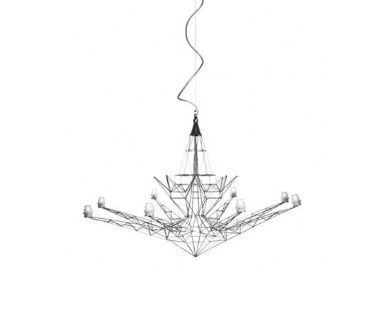 Lightweight suspension by Foscarini | General lighting