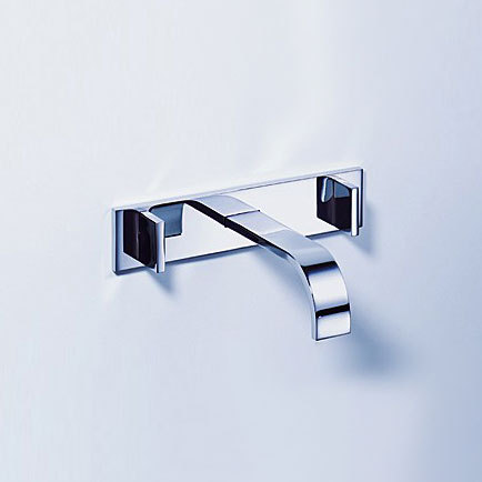 MEM - Wall-mounted basin mixer by Dornbracht | Wash-basin taps