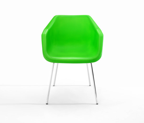 Poly armchair by Loft | Visitors chairs / Side chairs