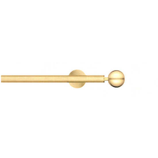 Modulo Cosmos brushed brass by Blome | Curtain fittings