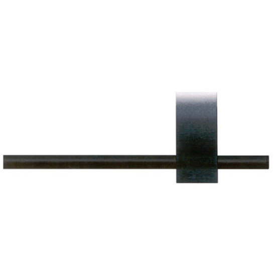 Modulo Arco black by Blome | Curtain fittings