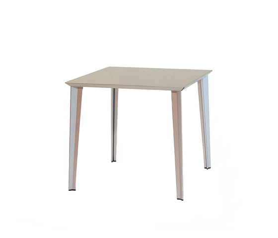 adeco RADAR T15 Aluminium Table by adeco | Cafeteria tables