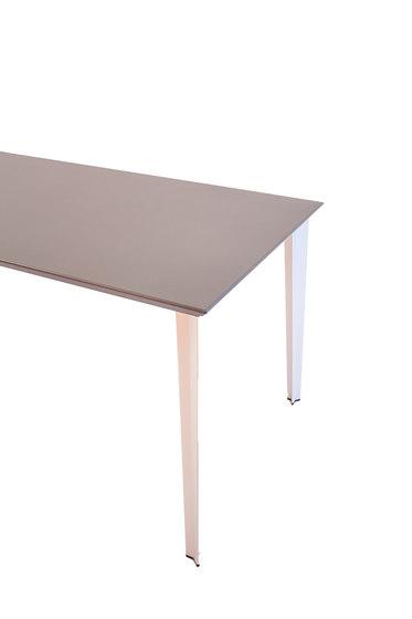 adeco RADAR T15 table aluminium de adeco | Tables de cantine