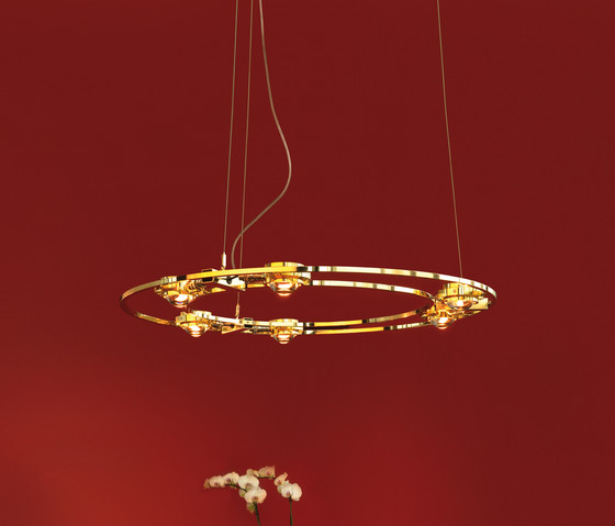 Ocular 800 Brass pure by Licht im Raum   General lighting