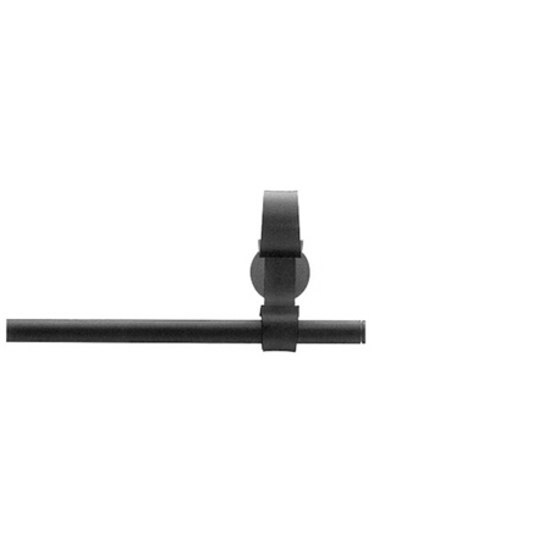 Mondo Epos black by Blome | Curtain fittings