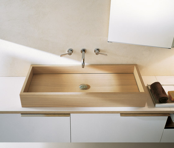 Woodline | CER760P by Agape | Wash basins