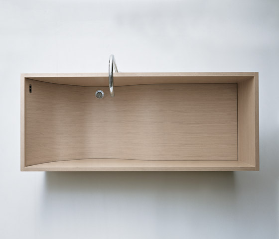 Woodline - VAS900 by Agape | Free-standing baths