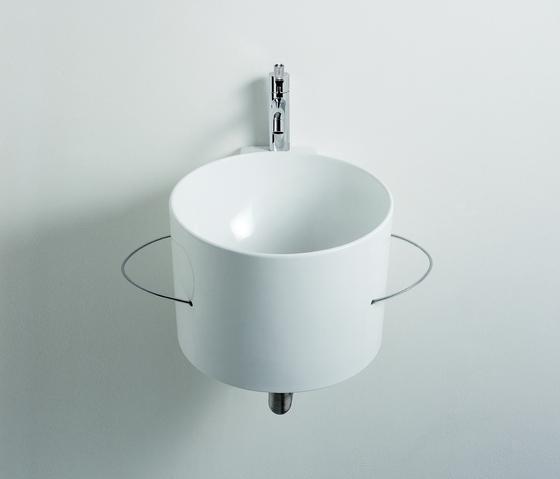 Bucatini Washbasin - CER740 by Agape | Vanity units