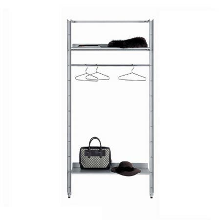 Armida shelving system by Desalto   Freestanding wardrobes